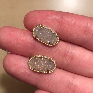 Ellie gold stud Kendra Scott earrings